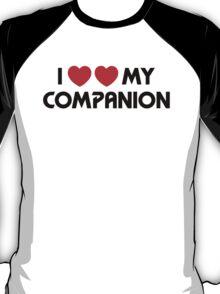 I Two-Heart My Companion Design (White) T-Shirt