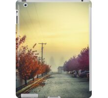 Land of fogs. Spokane morning. iPad Case/Skin