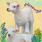 Easter Lambs by Frances Young