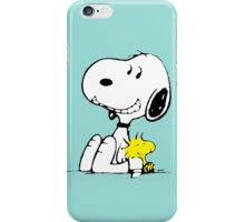 Snoopy and Woodstock iPhone Case/Skin