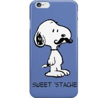 Snoopy Mustache iPhone Case/Skin