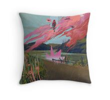 Other Ways Out Throw Pillow