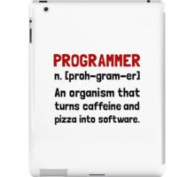 Programmer Definition iPad Case/Skin