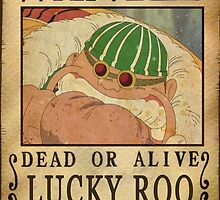 Wanted Lucky Roo - One Piece by Amynovic