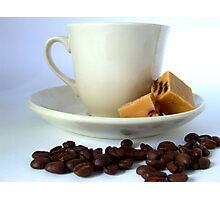 Fudge n Coffee Photographic Print