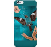 Until All Cages are Empty iPhone Case/Skin