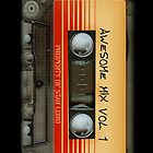 Awesome transparent mix cassette tape volume 1 by Dadang Lugu Mara Perdana