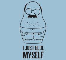I blue myself white by newyorkshka