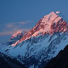 Aoraki Sunset by Andy  Christopherson