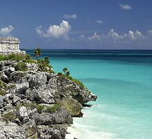 Tulum, Mexico by Terry Divyak