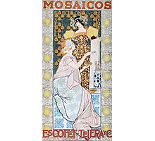 'Mosaicos' by Alexandre de Riquer (Reproduction) Photographic Print
