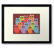 CAT FOURTEEN Framed Print