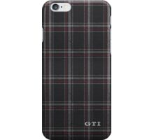 Volkswagon Golf GTI seat plaid pattern iPhone Case/Skin