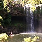 The swimming hole at the bottom of the Falls........! by Roy  Massicks