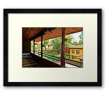 Traditional house in Koprivshtitsa, Bulgaria # 2 Framed Print