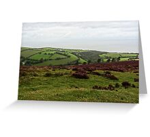 "UK: ""From the Countryside to the Sea"", Devon Greeting Card"