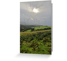 "UK: ""Let There Be Light"", Devon Greeting Card"