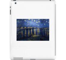 Starry Night Over The Rhone iPad Case/Skin