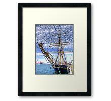 The Port of Fremantle WA - HDR Framed Print