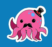 Dapper octopus by narwhalwall