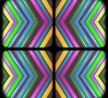 Colorful Zigzag by PiscesAngel17