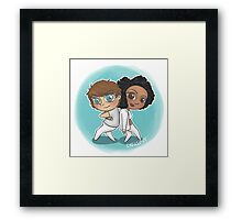 Adventures of 1D & LM Part 2 Framed Print