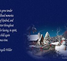 snow scene card by WJPhotography