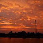 Autumn Sunrise by Tymlaird