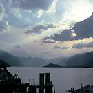 Italy Lake Como by Lorna Gerard