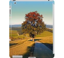 Roadside tree in indian summer colors | landscape photography iPad Case/Skin