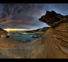 Sandstone Sunset Pan by Robert Mullner