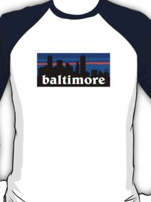 Baltimore, skyline silhouette T-Shirt