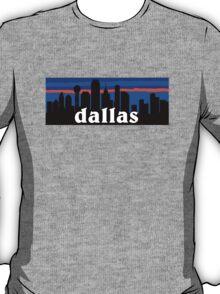 Dallas, skyline silhouette T-Shirt