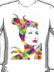 Maleficent in Watercolor T-Shirt