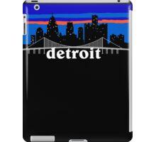 Detroit, skyline silhouette iPad Case/Skin