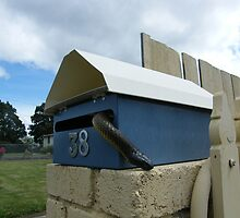 No kids gonna knock of my mail box by Thow's Photography