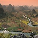 Guilin Mountains by Christophe Testi