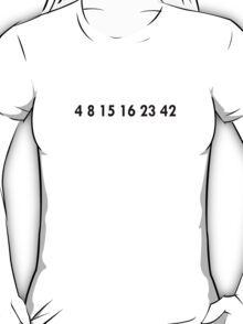 LOST Numbers T-Shirt T-Shirt