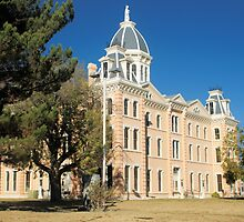 Presidio Co. Courthouse, Marfa, Tx. 1886 by John Thomason