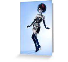 Black Lace - Ulorin Vex Greeting Card