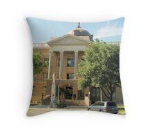 Williamson Co. Courthouse, Georgetown, Tx. 1911 Throw Pillow