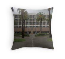 Galveston Co. Courthouse, Galveston, Tx. 1966 Throw Pillow