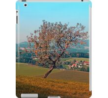 Tree on indian summer afternoon   landscape photography iPad Case/Skin