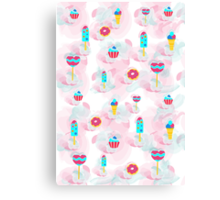 Sweets for a happy day Canvas Print