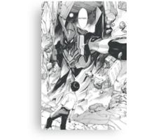 Yui Ikari ? (evangelion) Canvas Print