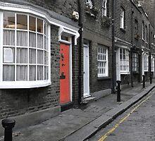 LITTLE GREEN STREET, LONDON by Eamon Fitzpatrick
