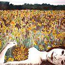"Amy Loves Yellow by Belinda ""BillyLee"" NYE (Printmaker)"