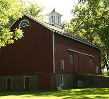 Erwin Stover Barn, Tinicum, PA by Anna Lisa Yoder