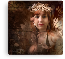 the Flower Nymph Canvas Print