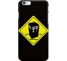 TARDIS Crossing iPhone Case/Skin